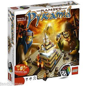 LEGO-RAMSES-PYRAMID-Reiner-Knizia-Egyptian-mummy-board-game-3843-Lego-Games-NEW