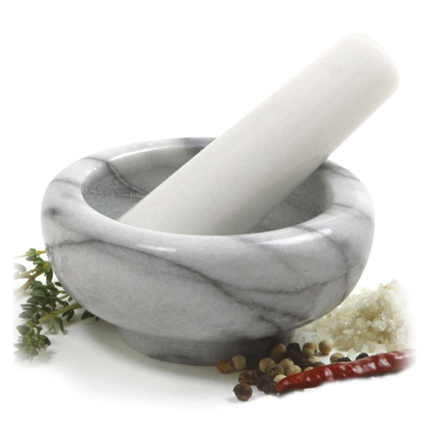 Norpro 693 Marble Mortar And Pestle on Sale