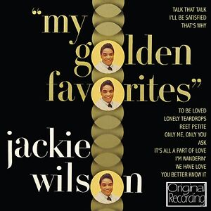 Jackie Wilson - My Golden Favourites CD