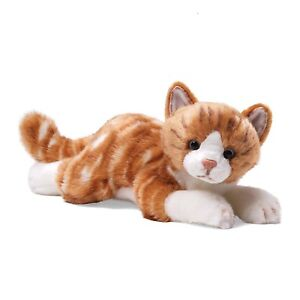 GUND Ginger Tabby Cat Plush Soft Toy  NEW  16262