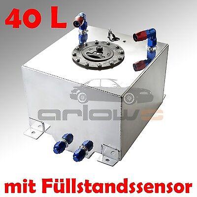 40L Aluminium Renntank Motorsport Alu Tank Alutank Catchtank Rennsport 1/4 Meile