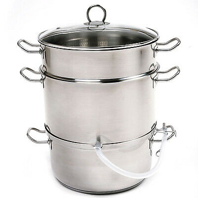 NORPRO 619 Stainless Steel Steamer Juicer Cooker 11.75Qt
