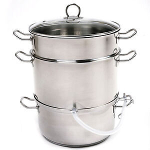 NORPRO-619-Stainless-Steel-Steamer-Juicer-Cooker-11-75Qt