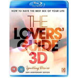 The Lovers' Guide Igniting Desire 3D Blu Ray Region B brand new with seal