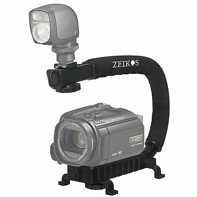 Pro Deluxe Video Stabilizing Bracket Handle For Sony Hdr-td30v Hdr-td30