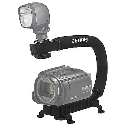 Pro Deluxe Video Stabilizing Bracket Handle For Samsung Hmx-h300