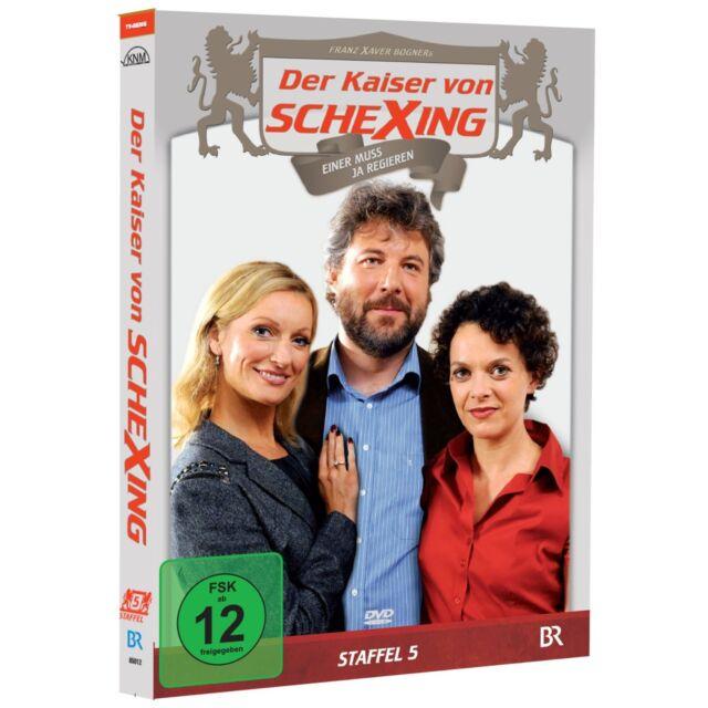 2 DVDs * DER KAISER VON SCHEXING - STAFFEL 5  # NEU OVP >