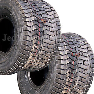 2-20x10-00-10-20-10-00-10-Riding-Lawn-Mower-Garden-Tractor-Turf-TIRES-4ply