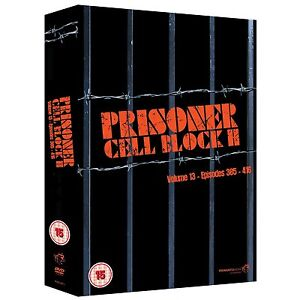 Prisoner Cell Block H Volume 13 DVD NEW & SEALED (8 Disks)