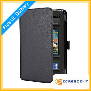 Belkin-Verve-Tab-Folio-Book-Case-Cover-for-Amazon-Kindle-Fire-Tablet-Black