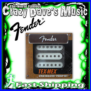 New-Fender-Original-Tex-Mex-Strat-Stratocaster-Guitar-Pickup-Pickups-Set-Pick-Up