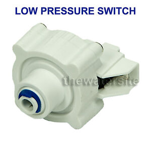 Low Pressure Switch For Reverse Osmosis Filters 1/4