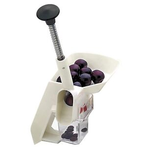 Norpro-Deluxe-Cherry-Pitter-Stoner-With-Automatic-Feed