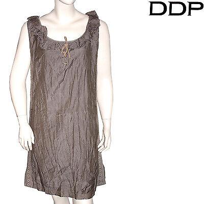 Robe Marron Ddp Femme Taille L