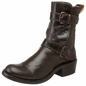 new gringo womens sturgis motorcycle boot brown size 9 m