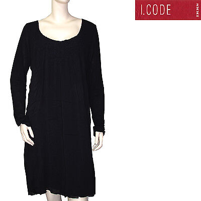 I.code By Ikks Robe Femme Noire Dress Taille 36