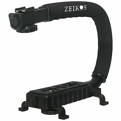 Pro Grip Camera Stabilizing Bracket Handle For Samsung Nx210 Nx-210