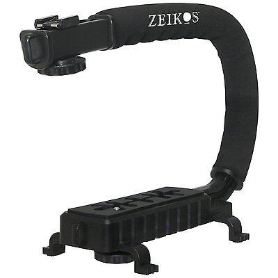 Pro Grip Camera Stabilizing Bracket Handle For Panasonic Lumix Dmc-lz20k Dmclz20