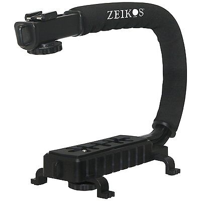 Pro Grip Camera Stabilizing Bracket Handle For Sony Slt-a77v Slt-a77