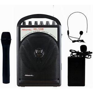 Wireless Microphone With Speaker Ebay
