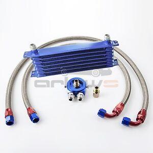 Ölkühlerkit Honda Civic CRX Vtec V-tec Ölkühler Kit Peugeot 206 306 Turbo 16V