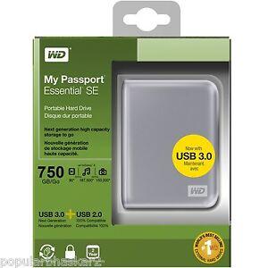 Western-Digital-WD-750GB-My-Passport-USB-3-0-Portable-External-Hard-Drive-Fast