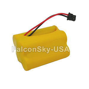4-8V-Battery-for-Uniden-Bearcat-Sportcat-BP120-BP180-Scanners-Ni-Cd-800mAh-NEW