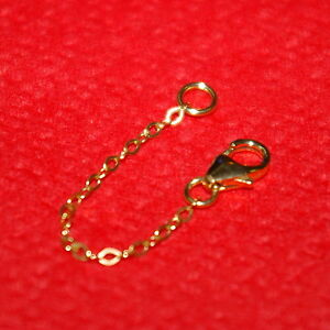 14kt Gold Filled Fine 1 5x2mm Flat Cable Chain Extender