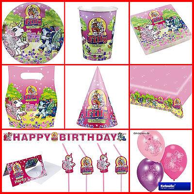 Fairy Filly Alles Zum Kindergeburtstag: Geburtstag Pferde Party Set Kinder 1