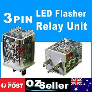 3 PIN LED Flasher Relay Unit CAR Turn Signal Indicator ...