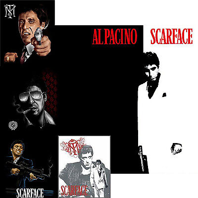 Scarface Al Pacino Plush Mink Blanket Collection Queen Size 79x95