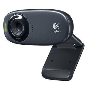 Logitech-C310-HD-720P-5MP-Video-Webcam-Vid-Widescreen-built-in-Mic-New