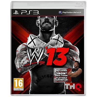 WWE 13: LIMITED MIKE TYSON EDITION PS3 *NEW & SEALED* online kaufen