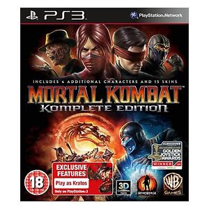 * MORTAL KOMBAT 9 KOMPLETE EDITION PS3 GAME * NEW AND SEALED PLAYSTATION 3