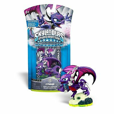 Skylanders Spyro 5 Elements 8 Figures Cynder Empire Ice Whirlwind Drill Trouble