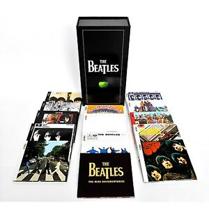 BEATLES In Stereo Box Set Remastered 16x CD 1x DVD Box Set SEALED