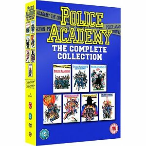 POLICE ACADEMY Complete Collection DVD Films 1, 2, 3, 4, 5, 6, & 7 Movies R4