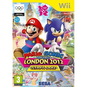 Mario and Sonic at the London 2012 Olympic Games Wii BRAND NEW FAST AUS POST
