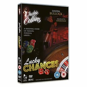 Lucky Chances Volume 1 & 2(DVD) Jackie Collins , Sandra Bullock - New and Sealed