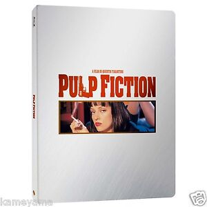 Pulp Fiction Blu-ray Steel Book Edition Limited Quantity from Japan New F/S