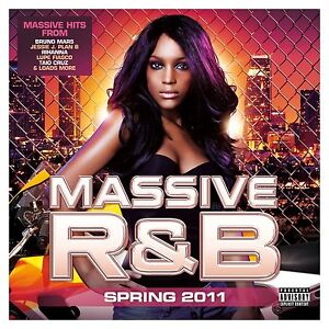 Massive R&B Spring 2011 CD BRAND NEW free UK P&P Bruno Mars Rihanna Jessie J