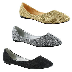 New-Ladies-Dolly-Ballerina-Bridal-Summer-Casual-Loafers-Shoes-Sizes-3-4-5-6-7-8