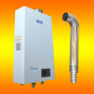 Propane Tankless Water Heater Direct Vent Ebay