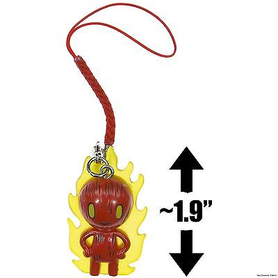 Tokidoki Marvel Frenzies Human Torch Clip On Single Figure Brand on Sale