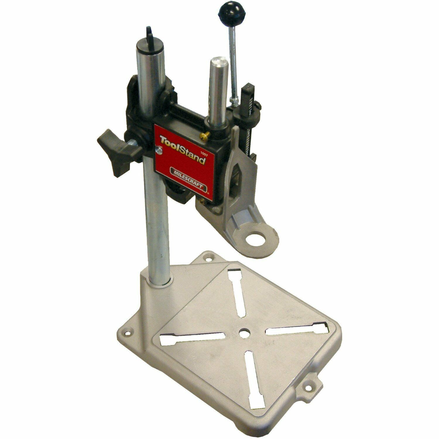 Milescraft INC. 1097 Tool Stand Drill Press For Rotary Tools Fits Dremel Work Station