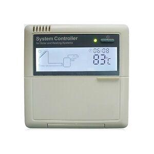 Solarregler, Temperaturdifferenzregler, Solarsteuerung (25065)