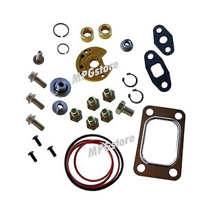Turbo Rebuild Kit Garrett T3 T4 T04B T04E 360 Upgrade Thrust Bearing with Gasket