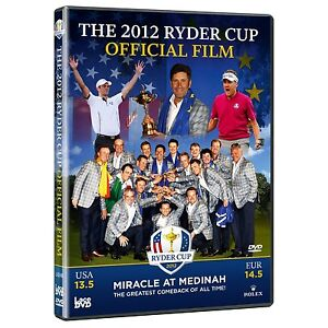 Ryder Cup 2012 Official Film (39th) DVD | The Miracle At Medinah  | FREE UK P&P