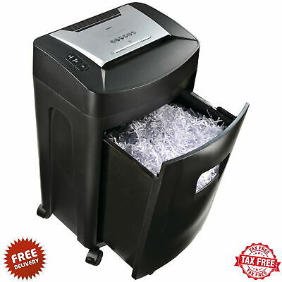 Paper Shredder Commercial Best Heavy Duty Industrial Cross Cut 18 Sheet 40