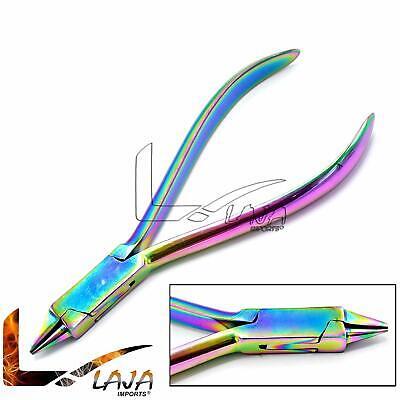 New Bird Beak Pliers Orthodontic Instruments Multi Rainbow Color Dp-07